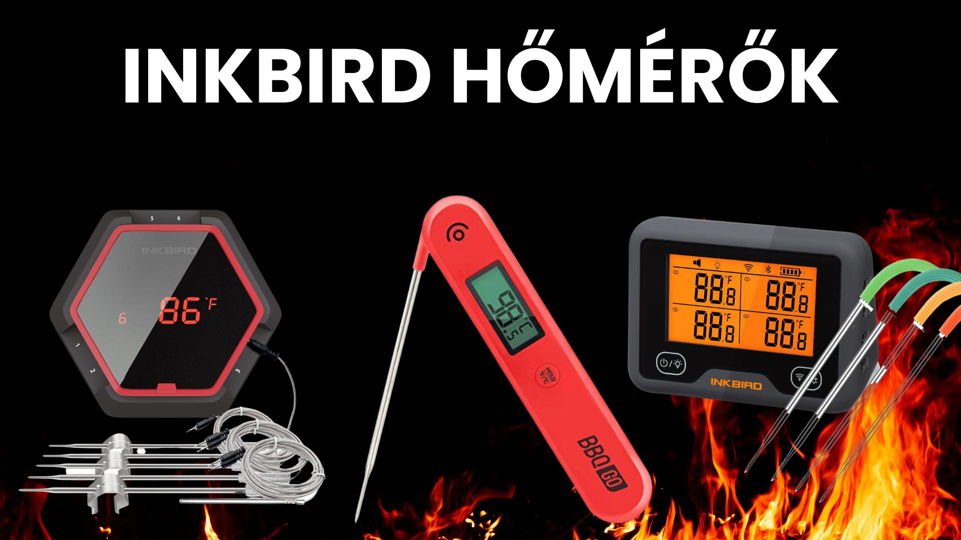 A maghőmérőtől a légáramlás szabályzókig - Új Inkbird hőmérők érkeztek